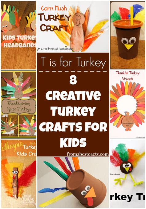 library crafts for 8 creative turkey crafts for on s library from