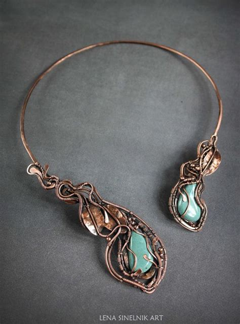 best wire for jewelry 25 best ideas about copper necklace on wire
