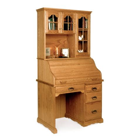 small hutch for desk top small library desk with top
