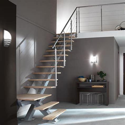escalier 1 quart tournant m 233 tal lapeyre bricolage creation loisirs