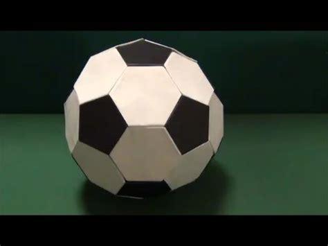origami soccer サッカーボール 折り紙 quot soccer quot origami