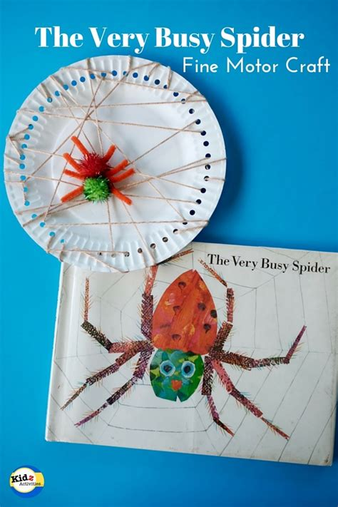 crafts for kindergarteners eric carle the busy spider crafts for kindergarteners