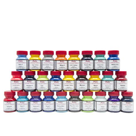 acrylic paint kits wholesale complete angelus collector edition kit angelus paints