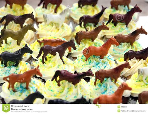 Kitchen Designs Unlimited chocolate birthday cupcakes decorated with horse theme