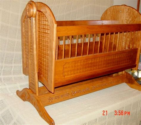 bassinet woodworking plans 54 best images about wooden baby cradles on
