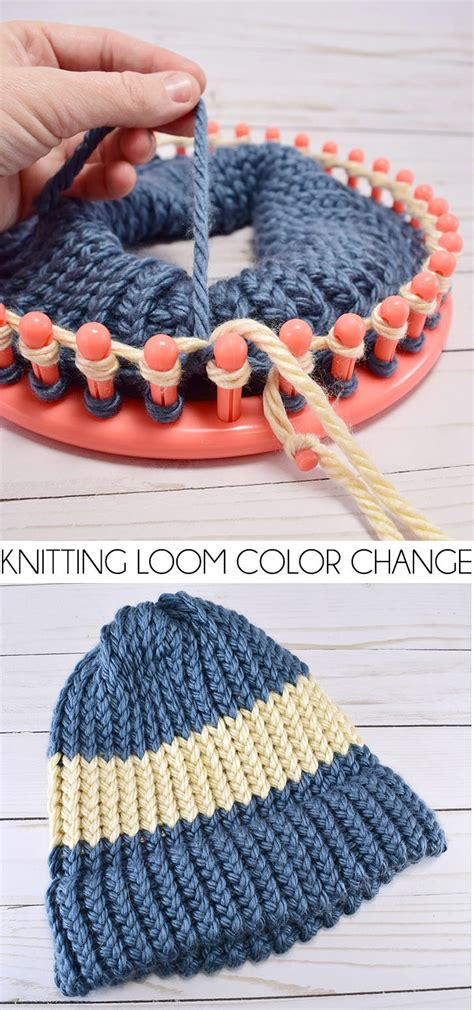 knitting changing colors in the how to change colors on a knitting loom a