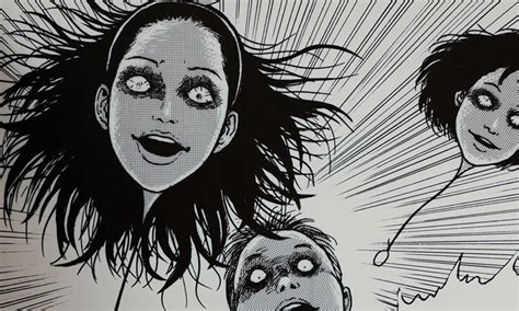 horror mangas junji ito quot aesthetics of horror quot exhibition take a look