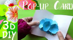 how to make a origami pop up card diy origami flower pop up card easy tutorial how to