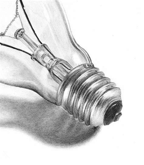 drawing lights bulbs drawings and lights on