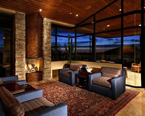 Garage Shop Design Ideas desert mountain estate contemporary family room