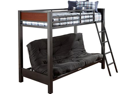 bunk beds with a futon louie gray futon loft bed bunk loft beds colors