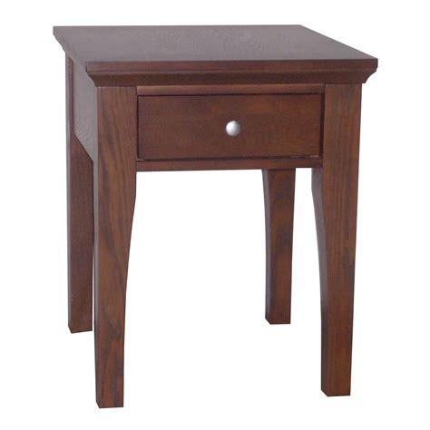 end tables fraser end table 1 drawer ojcommerce