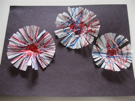 fireworks craft for craftista 11 fourth of july crafts editorial by