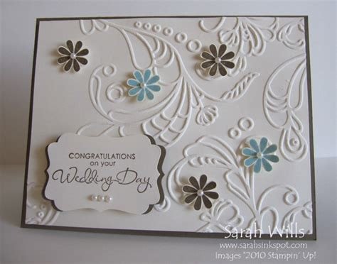 make wedding card simple wedding card sarahs ink spot