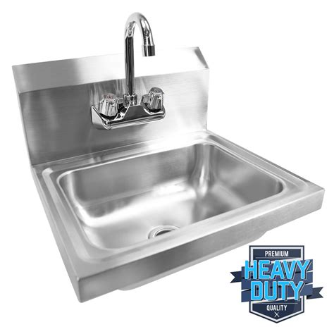 industrial kitchen sinks commercial stainless steel wash washing wall mount
