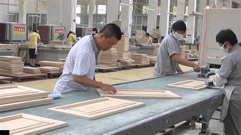 woodworking factory wood working inspection in kitchen cabinet factory in