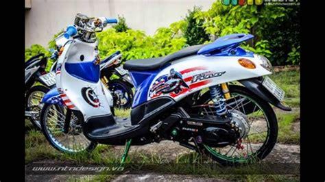 Thailook Style Modifikasi by Modifikasi Yamaha Fino Thailook Style Mothai Thailand