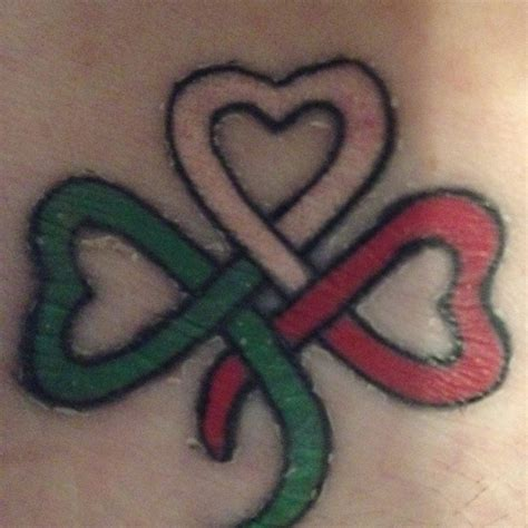 my irish italian heritage tattoo i wonder how to