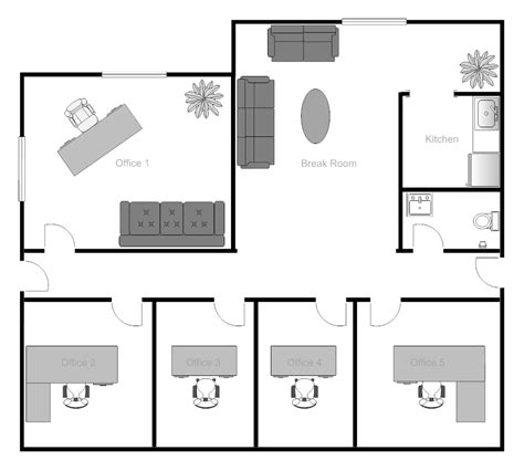 small office floor plan exle image office building floor plan office design