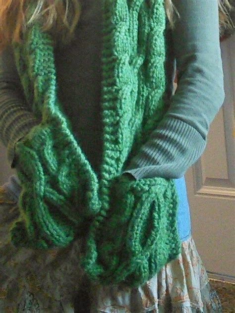 scarf with pockets knitting pattern 17 best images about knitting scarf cowl patterns on