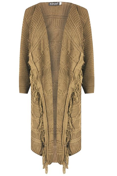 womens cable knit cardigan womens cardigan chunky cable knit tassel