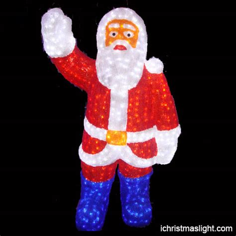 lighted santa outdoor lighted santa claus made in china ichristmaslight