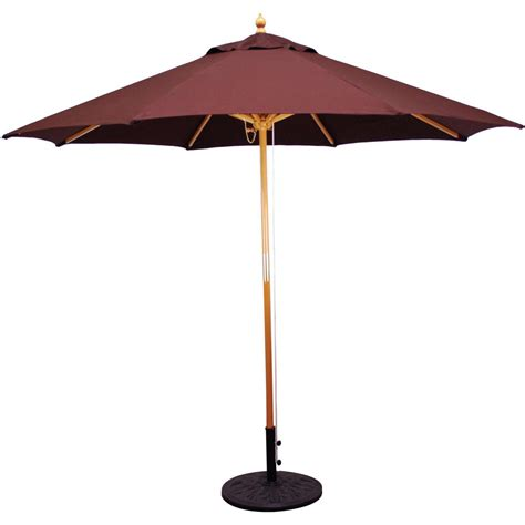 galtech patio umbrellas wood patio umbrellas object moved 9 wood patio umbrella