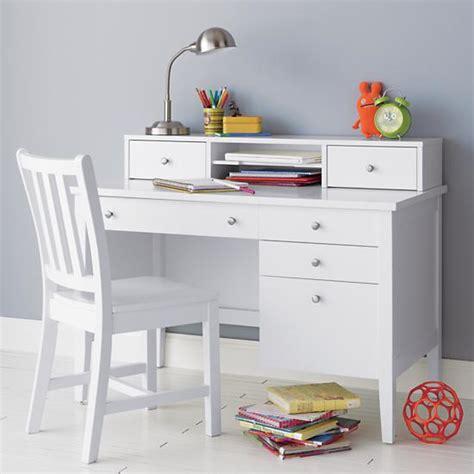 children white desk desk chair white