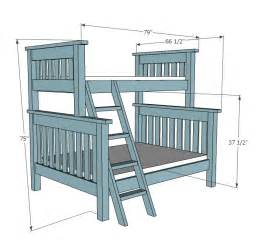 bunk bed blueprints plans for building a bunk bed discover