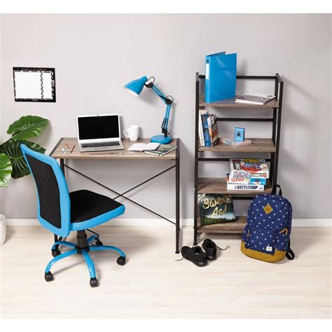 Folding Chair With Desk by Folding Desk Chair Blue Thedeskdoctors H G