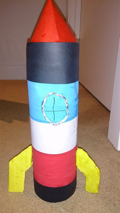 easy recycled crafts for space crafts for rocket craft easy crafts for