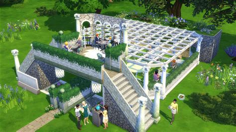 sims 4 olive garden gallery spotlight delicious fan made restaurants in the sims 4 dine out pack sims society