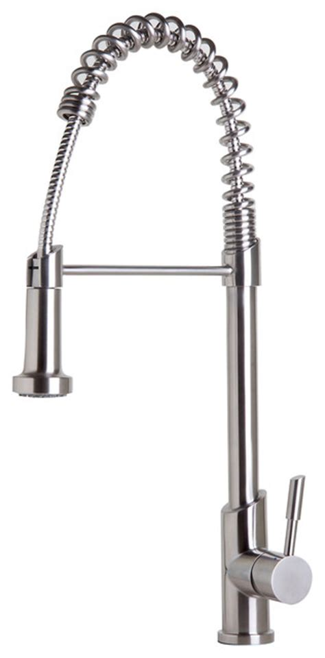stainless steel kitchen faucet with pull spray commercial kitchen faucet with pull shower