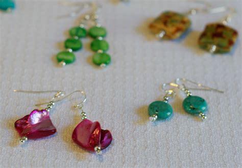 beaded earrings diy 5 minute diy earrings