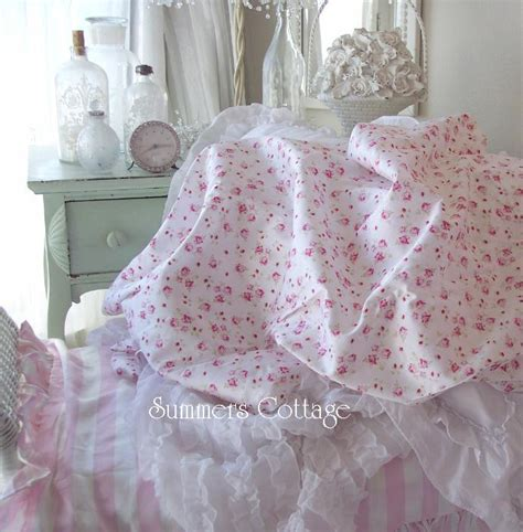 shabby chic sheets king sheet set shabby pink wine roses chic cotton