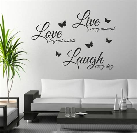 wall decor stickers quotes aliexpress buy foodymine live laugh wall