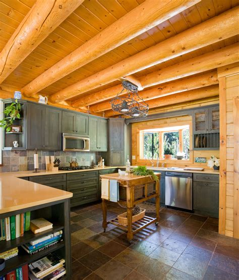 cabin kitchen cabinets cabin kitchen cabinets kitchen traditional with bow window