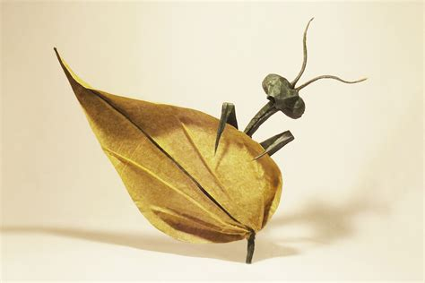 origami insect 24 incredibly realistic looking origami insects