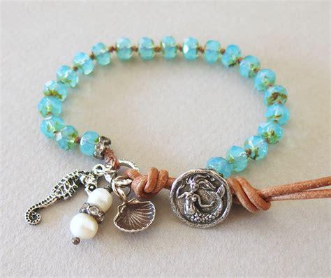 handmade bead bracelets handmade boho mermaid bracelet handmade jewelry
