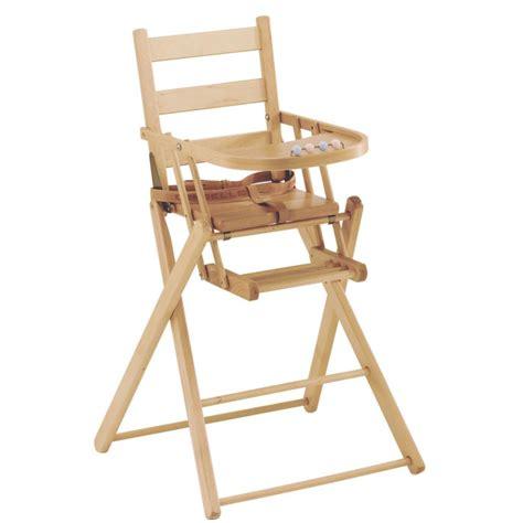 chaise haute pliante dossier lattes galb 233 es combelle avis