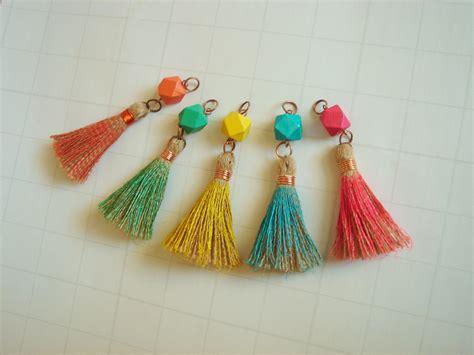tassels for jewelry tassel charms tassels set jewelry tassels handmade