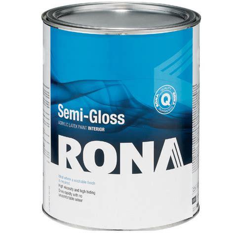 Paint Quot Semi Gloss Finish Quot Interior Acrylic Rona