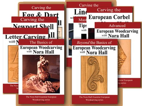 woodworking dvd series the european woodcarving series on dvd with nora