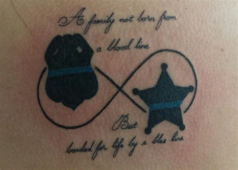 law enforcement tattoo leo wife pinterest