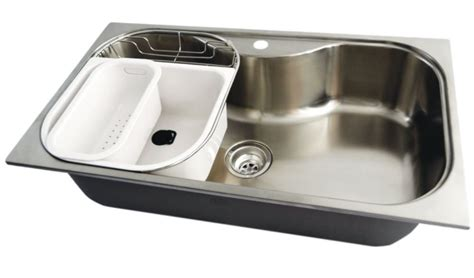 large stainless steel kitchen sinks stainless steel large bowl kitchen sink 250807 canada