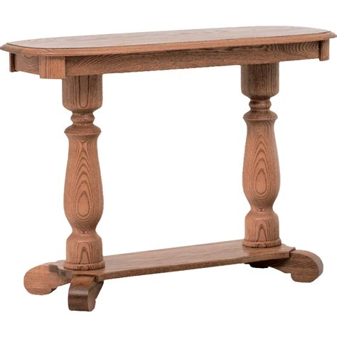 country style sofa table country style solid oak pedestal sofa table 39 quot the