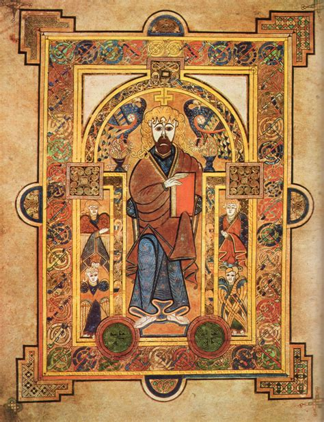 pictures of the book of kells the book of kells