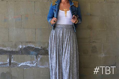 diy knit skirt tbt post crinkle knit maxi skirt diy studded jacket