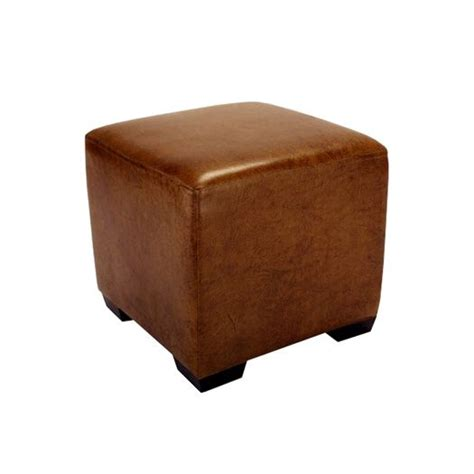 leather cube ottomans cube ottoman leather 3g
