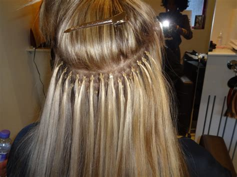 hair extensions micro image micro ring hair extensions